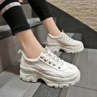 ins潮老爹鞋女时尚百搭休闲女鞋 户外透气运动鞋女 韩版女士小白单鞋增高鞋