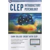 【预订】CLEP(R) Introductory Psychology Book + Online