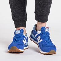 New Balance 女鞋 复古鞋运动休闲跑步鞋 WL574SPB