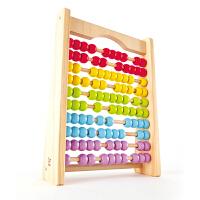 Hape炫彩珠算架3-6岁启智早教益智儿童玩具婴幼玩具木制玩具E8044