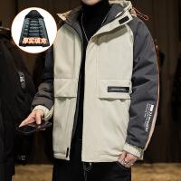 男士冬季棉衣男装0 休闲宽松加厚羽绒韩版时尚潮流外套男装