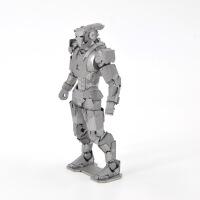 爱拼 金属 diy拼装模型 3D立体拼图 钢铁侠之战争机器