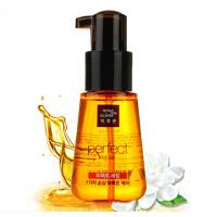 韩国爱茉莉发油 橄榄 护发精油70ml免洗护发素 修护修复干枯毛躁头发 免洗护发素 护肤套装
