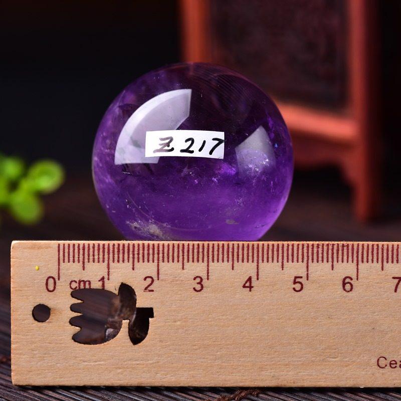 天然水晶球摆件天然紫水晶球 摆件风水球紫晶智慧财富礼品一物一图原石 请下单前先与客服确认发货时间、产品规格、库存、物流等相关情况,否则出现任何损失与