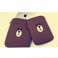 布朗熊ipadmini平板电脑防震保护套air9.7寸iPad包笔记本包SN7773