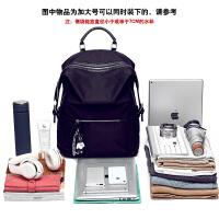 双肩包女韩版百搭时尚潮学生书包休闲旅游大容量旅行背包 黑色加大号-可装17寸笔记本 可当小型行李箱