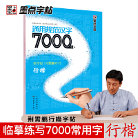 墨点字帖:钢笔硬笔书法字帖 成人速成练字帖通用规范汉字7000字行楷