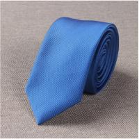 20180823240352018年新款窄版领带男韩版休闲纯色6CM结婚礼新郎小细英伦职业窄款紫红黑蓝白