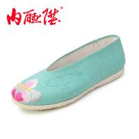 女鞋 大鱼海棠系列 女款手工千层底布鞋DY8218