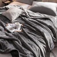 君别商场被子冬天单人珊瑚绒毛毯加厚冬季保暖法兰绒毯子午睡铺垫床宿舍学生小