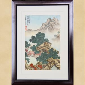 观云王明善传统宫廷画风系列:风景这边独好