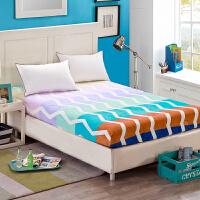 加厚法莱绒法兰绒珊瑚绒床笠席梦思保护垫床套床单床垫套罩