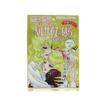 日本Creer Beaute凡尔赛玫瑰金润透亮深层 保湿面膜 金色 10片
