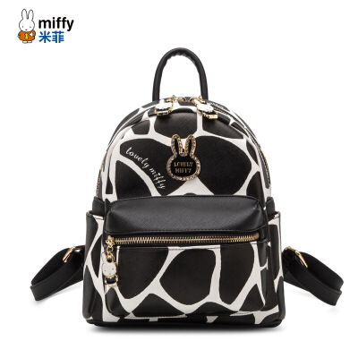 Miffy米菲 2017新款双肩包 韩版迷你背包女士时尚包包小书包潮