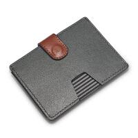20180922113348945c薄小钱包 男驾驶证卡包包大容量搭扣卡包女钱夹