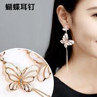 韩式耳环女 长款星星耳线 流苏耳环日韩版简约时尚气质耳坠耳饰