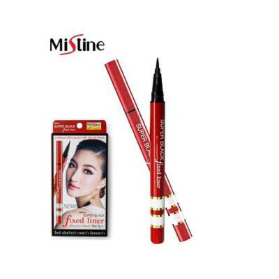 泰国Mistine银管红管眼线笔膏液防水防汗不晕染极细速干 夏季护肤 防晒补水保湿 可支持礼品卡
