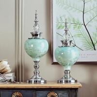 创意欧式摆件家居装饰品客厅玄关电视酒柜陶瓷工艺品桌面新婚礼物