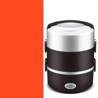 电饭盒热饭器蒸饭盒保温便携式电热饭盒三层可插电加热饭盒