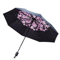 太阳伞防晒防紫外线遮阳伞女神折叠雨伞大号女韩国小清新晴雨两用