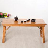 竹山下折叠桌子 餐桌家用便携桌 炕桌榻榻米桌子 茶几飘窗桌炕几