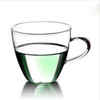 耐热玻璃杯 硅胶盖茶杯 透明小茶杯 办公杯 双层玻璃杯 马克杯 咖啡杯 创意啤酒杯