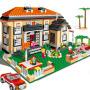 【当当自营】邦宝益智拼装积木小颗粒儿童女孩玩具建筑礼物 莱茵小筑8369