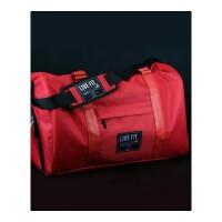 肌肉健身休闲大容量单肩斜跨运动背包男女户外旅行手提包