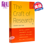 韦恩.布斯:研究是一门艺术(第四版) 英文原版 The Craft of Research, Fourth Editi