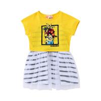 【2件3折到手价:104】小猪班纳童装2019夏款女童童针织两件套