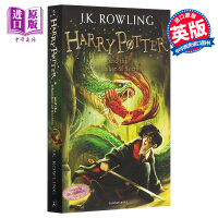 英文原版 哈利波特与密室 Harry Potter and the Chamber of Secrets 哈利波特 2
