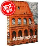 现货 图解建筑史 英文原版 Architecture: A Visual History 建筑历史百科 DK百科 进口