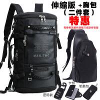 男士背包双肩包男多功能户外旅行背包男大容量旅游登山包