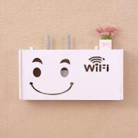 多层无线路由器收纳盒散热架 网络电视机顶盒架壁挂置物架 特
