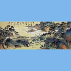 中国青年美术家协会常务理事,中国扇子艺术学会会员,中国山水画院专业画家,山东美术家协会会员,国家一级美术师高云鹏(金色山水)2