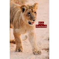 【预订】Lion Cub Notebook: Notebook With Lines And Blank Pages F