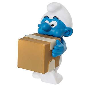 [当当自营]Schleich 思乐 蓝精灵系列 物流蓝精灵系列 仿真塑胶模型收藏玩具动漫周边 S20771