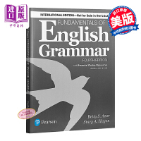 【中商原版】英语语法基?。ㄑ�生用�?光盘)英文原版 Fundamentals of English Grammar 英