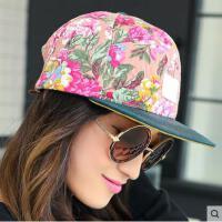 平沿帽 女韩版潮时尚印花女士防晒鸭舌帽 女网红同款时尚户外运动新品防晒运动棒球帽
