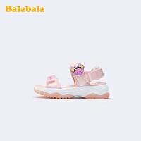 【3件5折价:110】巴拉巴拉官方童鞋儿童凉鞋女小童鞋防蚊迪士尼沙滩鞋夏季