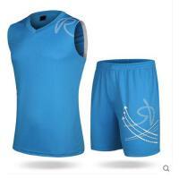 新款背心训练服 篮球衣比赛队服 DYI定制 印号印字 男篮球服套装