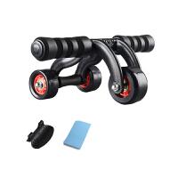 云博 健腹轮 腹肌轮健身器材家用练腹肌三轮健身器健身轮运动滚轮巨轮