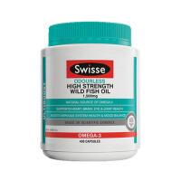 【澳洲直邮】Swisse深海鱼油胶囊 野生无腥味 400粒 海外购