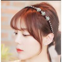 韩版发饰 配饰 饰品 仿珍珠花朵发箍发夹压发夹简约发卡头箍头饰发带
