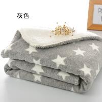�和�午睡毯珊瑚�q毛毯加厚�p�佣�季�稳丝照{小毯子膝�w毯�k公室