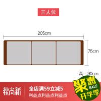 实木沙发冬夏两用现代新中式小户型贵妃客厅储物布艺木质家具 组合