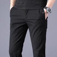 Lee Cooper 男士休闲裤子简约舒适运动裤青少年长裤直筒小脚男裤子