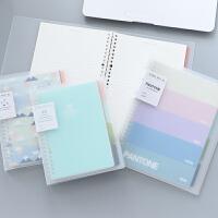 B5/A5小清新活页本学生分类简约记事本可替换 办公笔记本用品