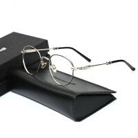 同款圆框克罗心迪亚眼镜框男女防蓝光辐射复古韩式潮