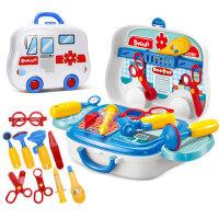 儿童医生玩具套装女孩过家家听诊器玩具当医生3-6岁打针医院玩具